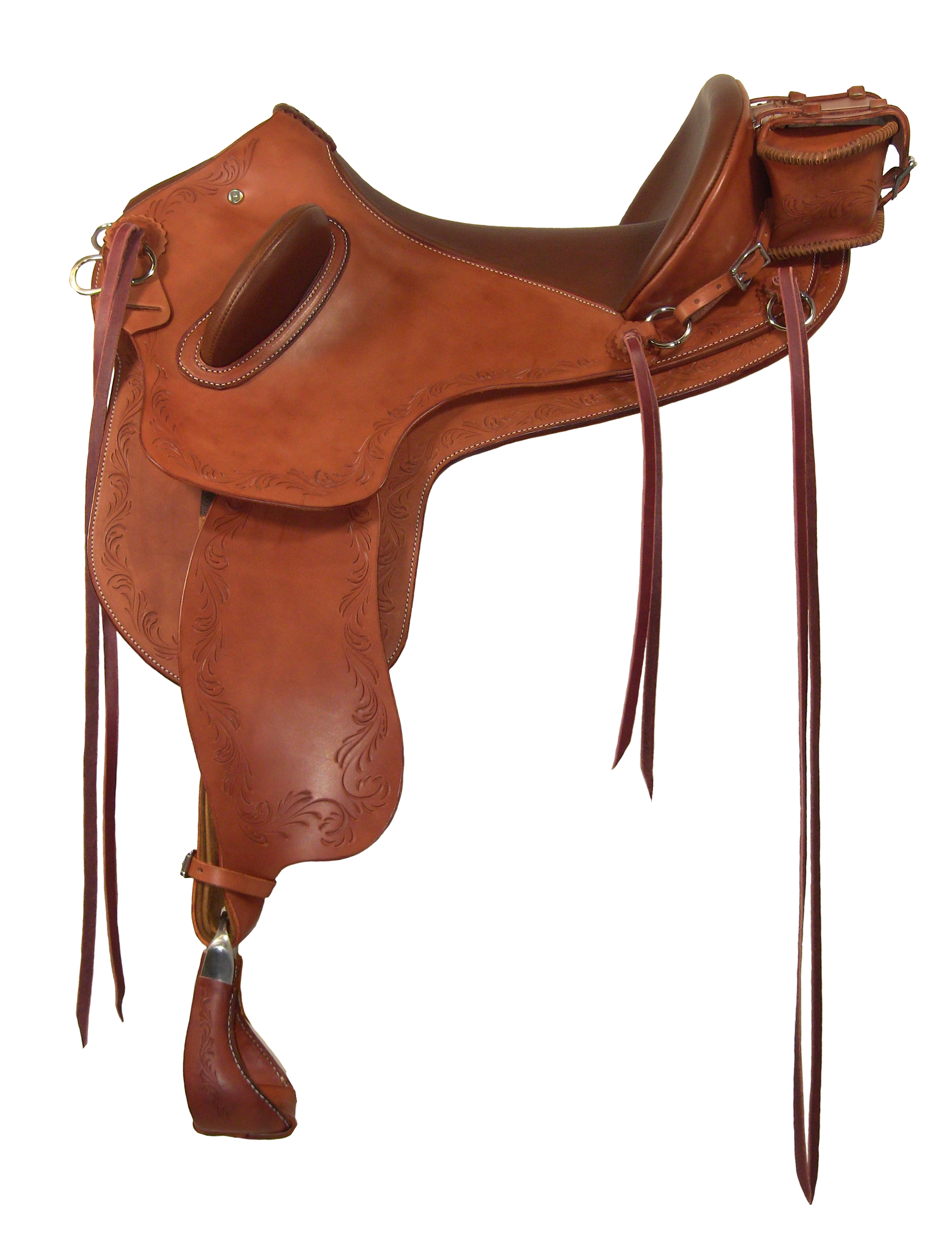 Ansur Roo treeless saddle #HA14JC